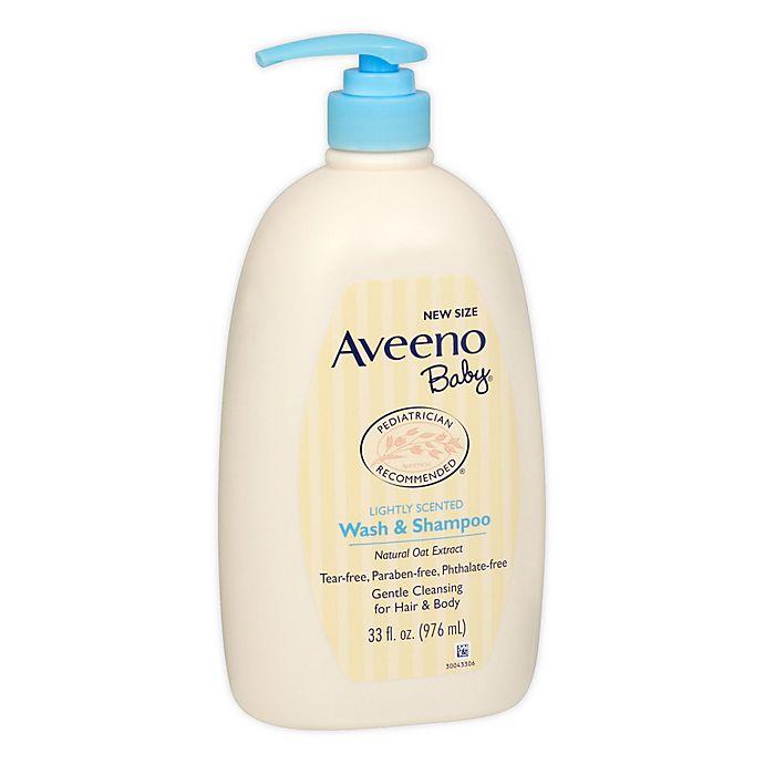 Alternate image 1 for Aveeno® 33 fl. oz. Baby Wash & Shampoo