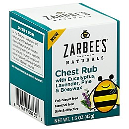 Zarbee's® Naturals 1.5 oz. Baby Soothing Chest Rub Eucalyptus Lavender and Beeswax