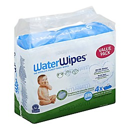 WaterWipes® with Soapberry 240-Count Wipes