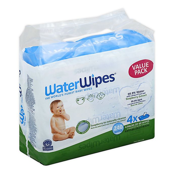 Alternate image 1 for WaterWipes® with Soapberry 240-Count Wipes