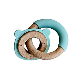 Little Rawr™ Silicone and Wood Teether