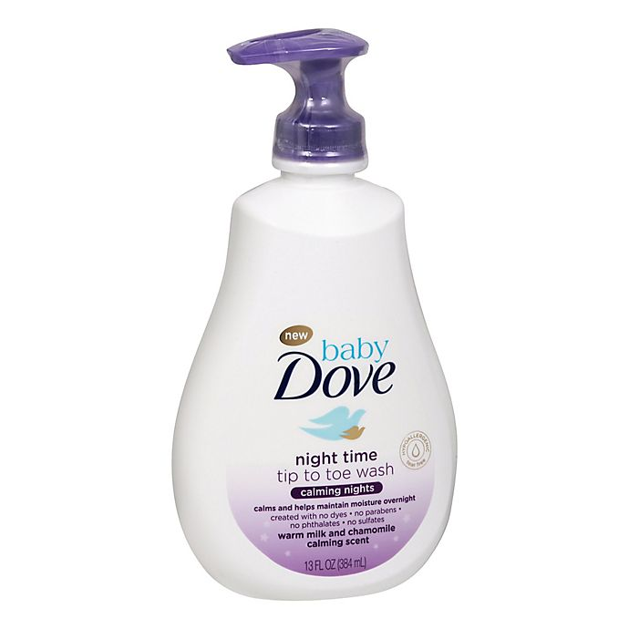 Alternate image 1 for Baby Dove® 13 fl. oz. Calming Nights Tip to Toe Wash
