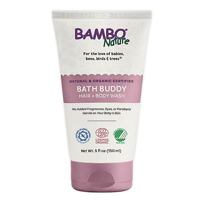 Alternate image 1 for Bambo® Nature 5 fl. oz. Bath Buddy Hair & Body Wash