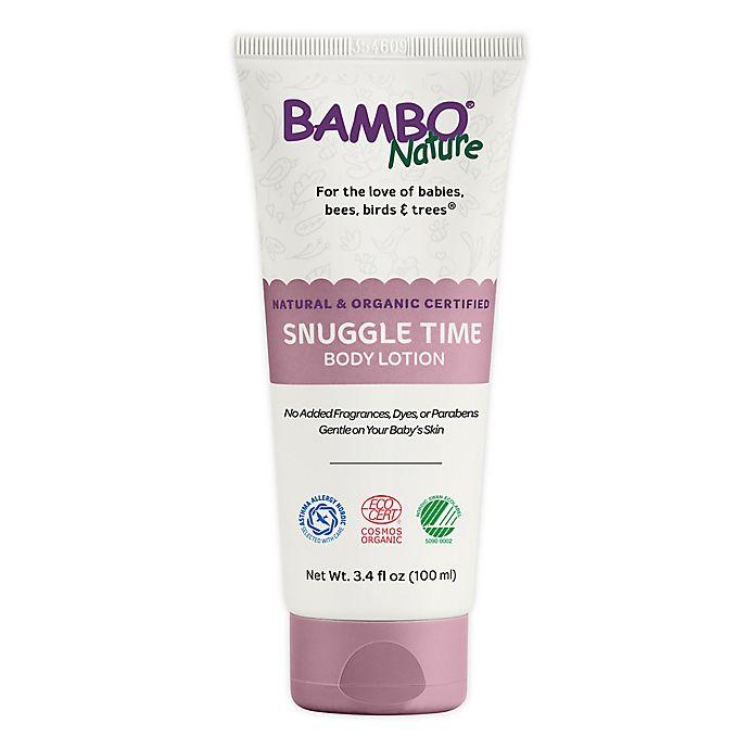 Alternate image 1 for Bambo® Nature 3.4 fl. oz. Snuggle Time Body Lotion