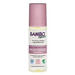 Bambo® Nature 4.9 fl. oz. Splish Splash Baby Oil