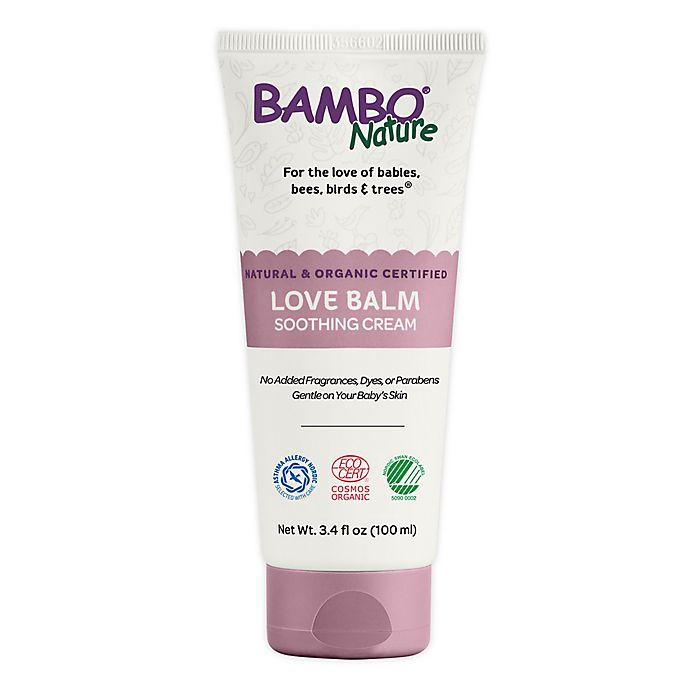 Alternate image 1 for Bambo® Nature 3.4 fl. oz. Love Balm Soothing Cream