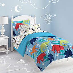 Dream Factory Dinosaur Comforter Set