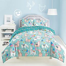 Dream Factory Llama Rama Comforter Set