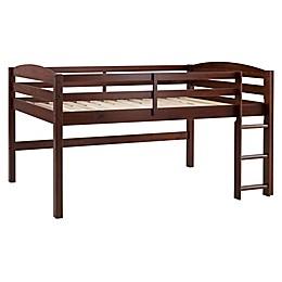 Forest Gate™ Twin Low-Loft Bed in Walnut