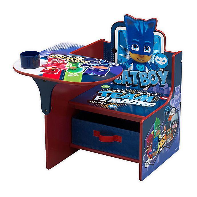 Alternate image 1 for Delta Children PJ Masks Catboy Chair Desk with Storage