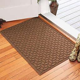 Weather Guard™ Ellipse 30-Inch x 45-Inch Door Mat in Dark Brown