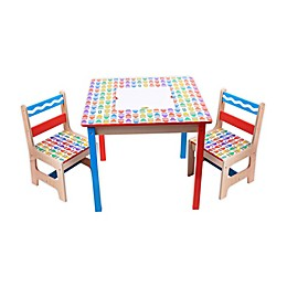 Crayola® 3-Piece Wooden Table and Chair Set