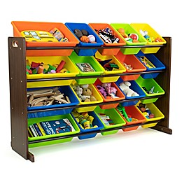 Humble Crew Multi-Color XL Toy Storage Organizer with 20 Bins