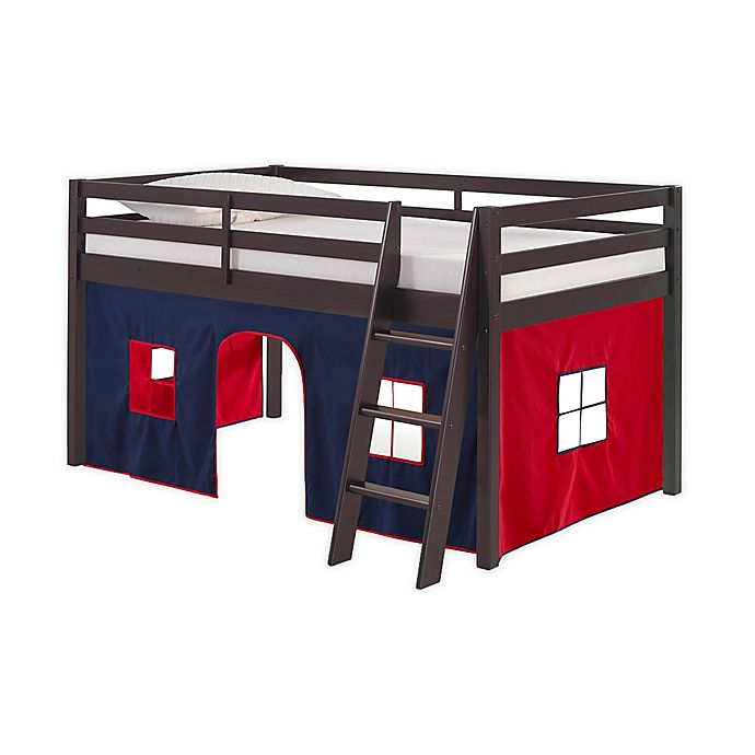 Alternate image 1 for Roxy Junior Loft Bed with Playhouse Tent