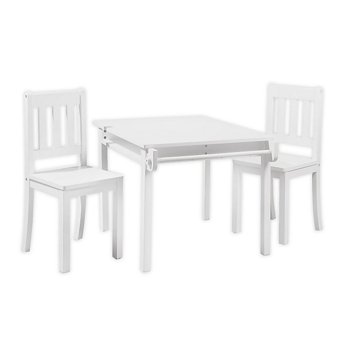 Alternate image 1 for Imagination 3-Piece Table and Chairs Set in White