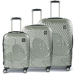 ful® Disney® Mickey 3-Piece Hard Side Spinner Luggage Set in Silver