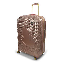 ful® Disney® Mickey 29-Inch Hard Side Spinner Checked Luggage in Rose Gold