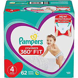 Pampers® Cruisers 360 Degrees Fit™ Size 4 62-Count Disposable Diapers