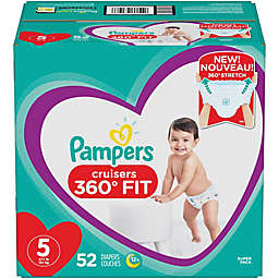 Pampers® Cruisers 360 Degrees Fit™ Size 5 52-Count Disposable Diapers