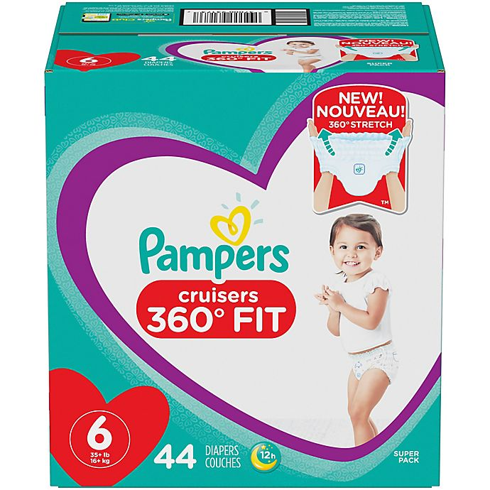 Alternate image 1 for Pampers® Cruisers 360 Degrees Fit™ Disposable Diapers