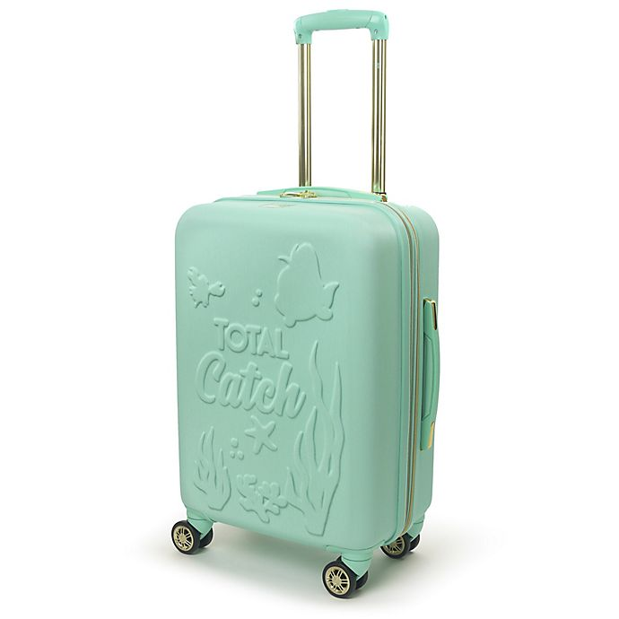Alternate image 1 for ful® Disney® Princess Ariel 21-Inch Hardside Spinner Carry On Luggage in Teal