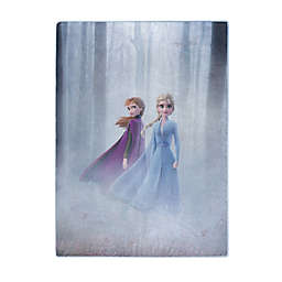 Disney&reg Frozen 2 Forest Sisters Raschel Throw Blanket