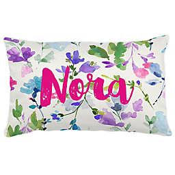 Carousel Designs® Bright Wildflower Lumbar Pillow