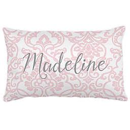 Carousel Designs® Filigree Lumbar Pillow in Pink