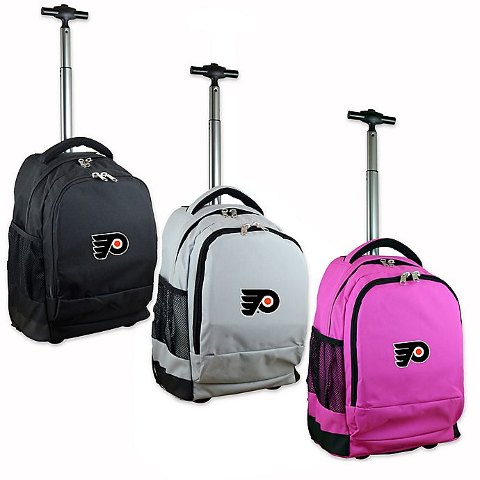 Alternate image 1 for NHL 19-Inch Wheeled Backpack Collection