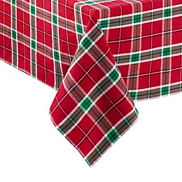 Elrene Home for the Holidays Table Linen Collection in Red/Green