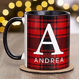 Christmas Plaid Personalized Coffee Mug Collection