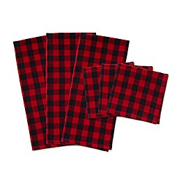 DII Tango Logger Dishtowels in Checkerboard (Set of 6)