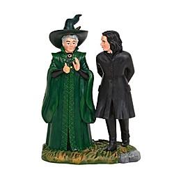Harry Potter™ Village Snape and McGonagall Figurine