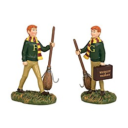 Harry Potter™ Village Fred and George Weasley Figurine