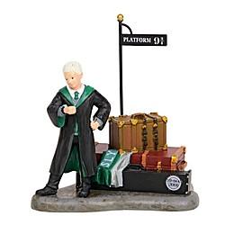 Harry Potter™ Village Draco Waits at Platform 9 3/4 Figurine