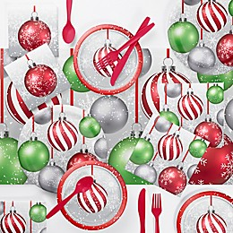 Creative Converting Holiday Ornaments Party Supplies Kit