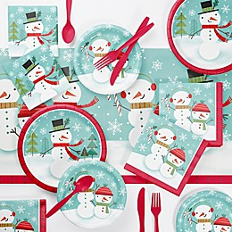 Creative Converting Winter Snowman Party Supplies Kit