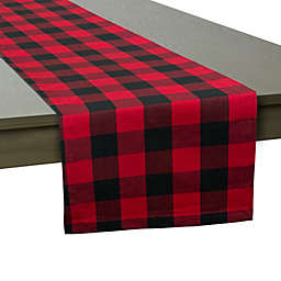 Buffalo Checkered 108-Inch Table Runner in Red/Black