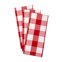 DII Buffalo Check Kitchen Towels (Set of 3)