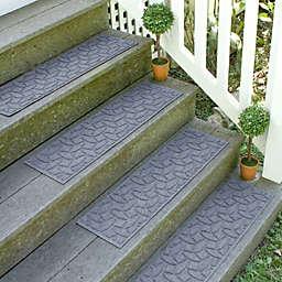 Weather Guard™  Ellipse 8.5-Inch x 30-Inch Stair Treads in Bluestone (Set of 2)