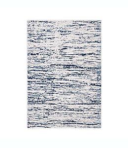 Tapete decorativo de polipropileno Safavieh Amelia Eve, 2 m color gris