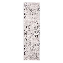 Safavieh Amelia Sidney 2'2 x 6' Handcrafted Runner in Grey