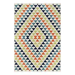 Momeni® Baja Kaleidoscope 8'6 x 13' Multicolor Indoor/Outdoor Area Rug