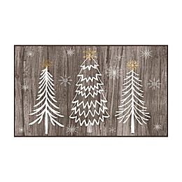 Mohawk Prismatic Barnwood Wonderland Printed Accent Rug in Brown