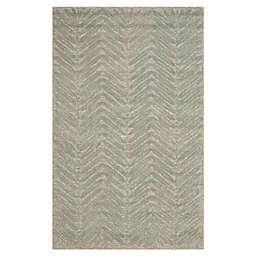 Martha Stewart by Safavieh Chevron Leaves Handcrafted Rug