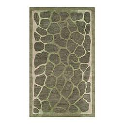 Martha Stewart by Safavieh Arusha 2'6 x 4'3 Accent Rug in Green
