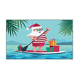 Mohawk Home® Prismatic Paddleboard Santa Accent Rug