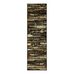 Mohawk Home Remy 7' Woven Runner Rug in Taupe