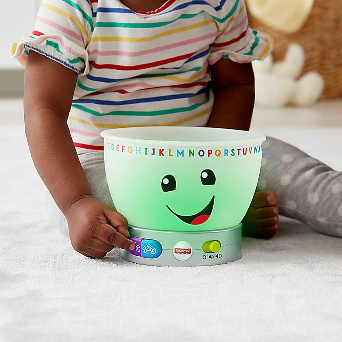 Alternate image 1 for Fisher-Price® Laugh & Learn™ Magic Color Mixing Bowl Interactive Toy