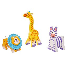 Melissa & Doug® First Play Safari Grasping Toys (Set of 3)